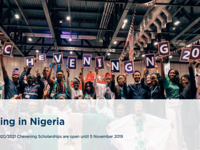 Chevening in UK, Nigeria Scholarship 2020