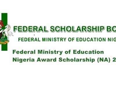 Federal Ministry of Education Nigeria Award Scholarship (NA) 2020 2021