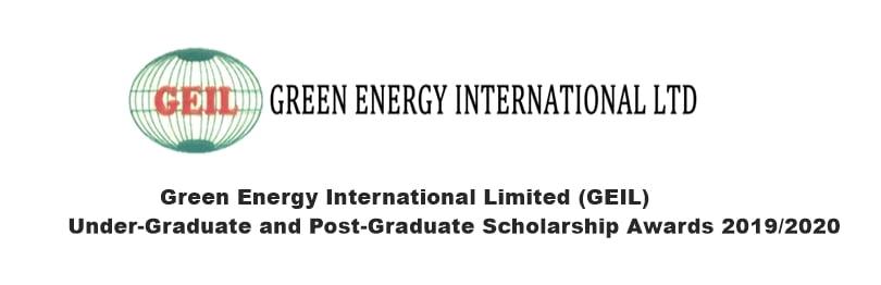 GEIL Under-Graduate and Post-Graduate Scholarship Awards 2019 2020