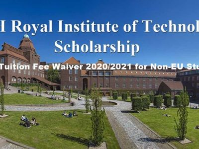 KTH Royal Institute of Technology Tuition Fee Waiver 2020 2021 for Non-EU Students