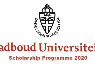 Radboud University, Netherlands Scholarship Programme 2020