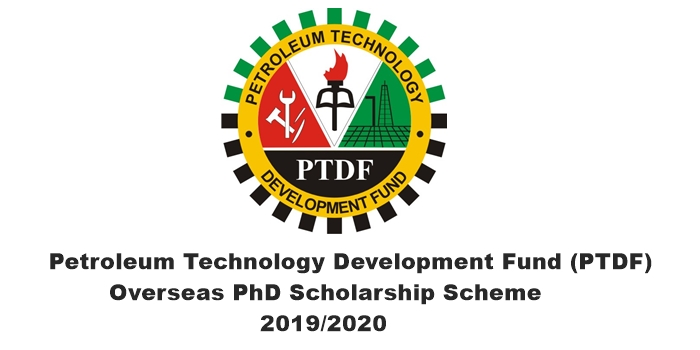 Petroleum Technology Development Fund (PTDF) 2019/2020 Overseas PhD Scholarship Scheme