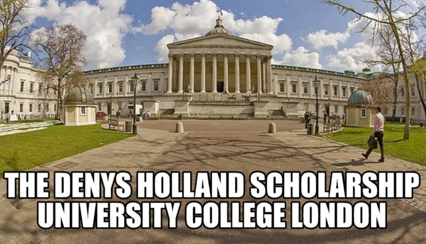The Denys Holland Scholarship 2020-2021 at University College London