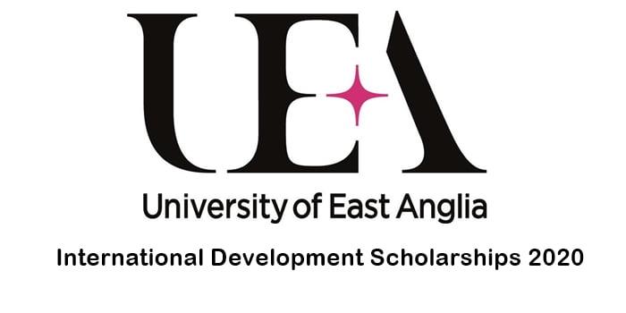 UEA International Development Scholarships 2020 for International Students