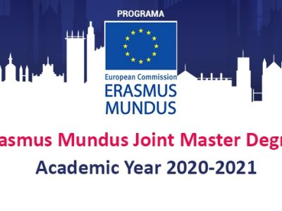 Erasmus Mundus Joint Master Degree Scholarships 2020