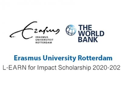 L-EARN for Impact Scholarship at Erasmus University Rotterdam