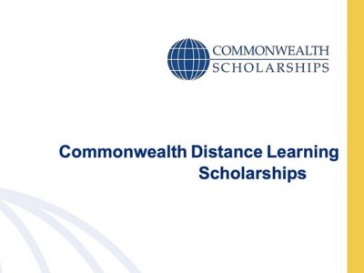 Commonwealth Distance Learning Scholarships 2020/2021 for Developing Commonwealth Countries
