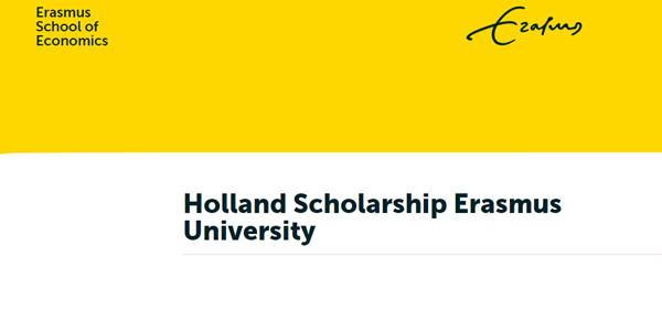 Erasmus University Holland Scholarship 2020 for International Students