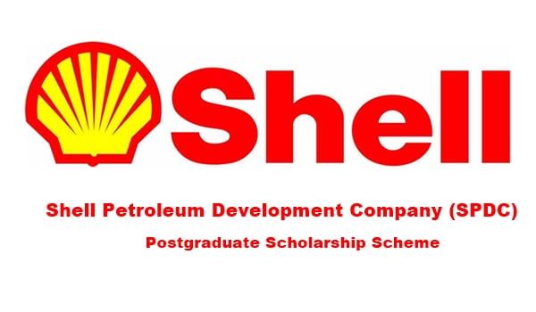 Shell Petroleum Development Company (SPDC) Postgraduate Scholarship Scheme 2020