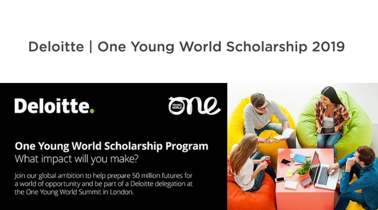 Deloitte One Young World Scholarship 2020