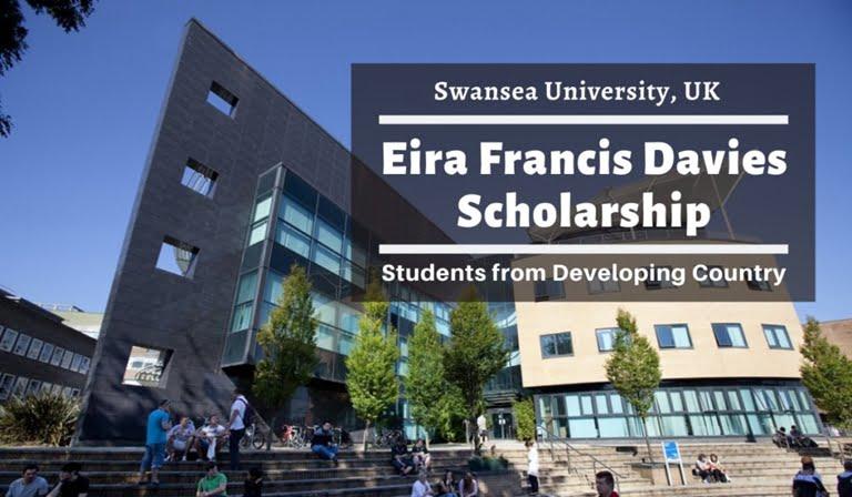 Eira Francis Davies Scholarship 2020/2021 at Swansea University