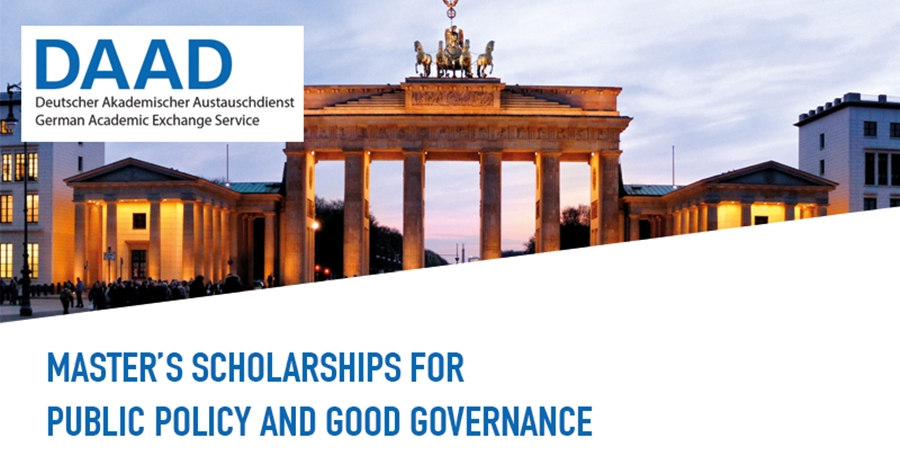 DAAD Helmut-Schmidt Masters Scholarships for Public Policy and Good Governance