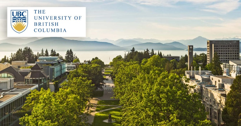 International Tuition Award at the University of British Columbia