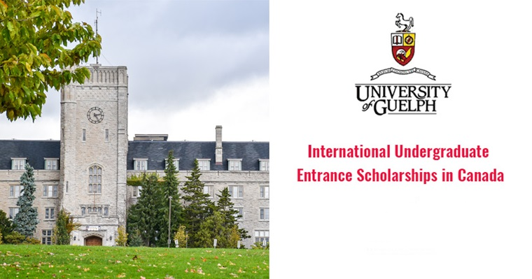University of Guelph International Undergraduate Entrance Scholarships in Canada