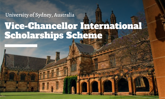 Vice-Chancellor International Scholarships Scheme 2020/2021 at University of Sydney