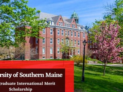 University of Southern Maine International Merit Scholarship 2020/2021