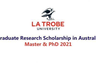 La Trobe University Graduate Research Scholarship (LTGRS)