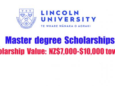 Lincoln University International Taught Master Merit Scholarships 2021